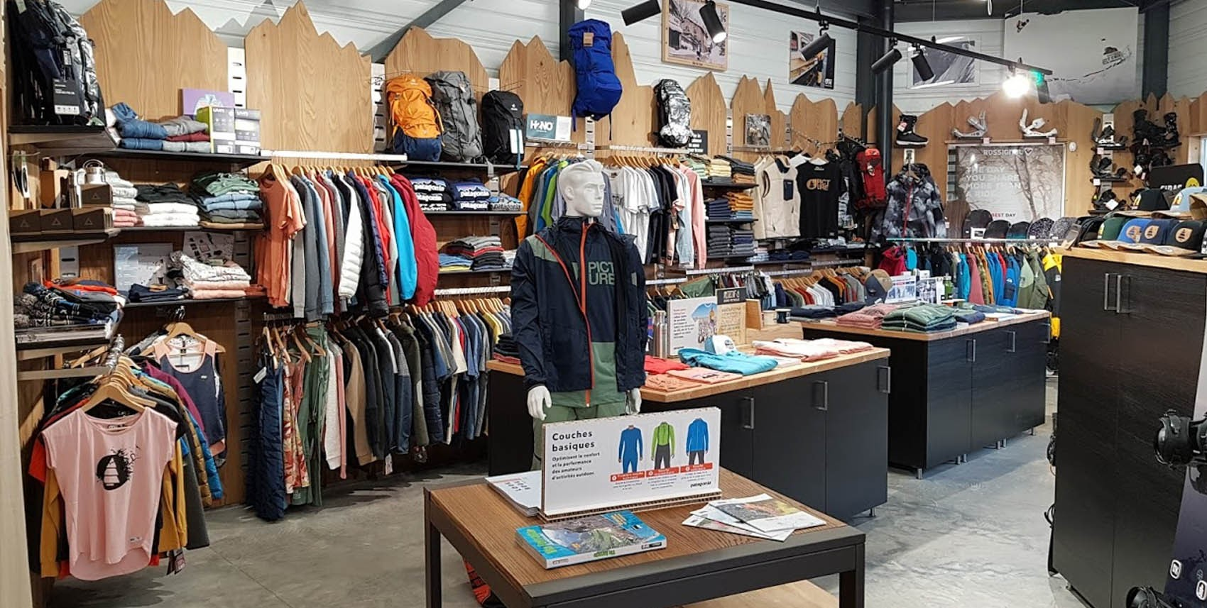 Magasin Physique Shop de montagne Alternatifshop